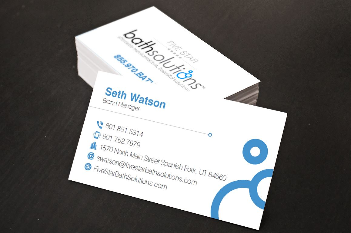 Bath Solutions Business Card
