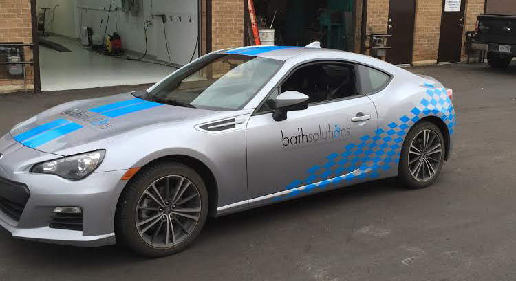 Bath Solutions Car Wrap
