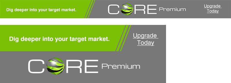 CORE Upgrade Ad